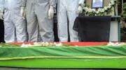 پیکر دومین شهید مدافع سلامت گلستان تشییع و تدفین شد