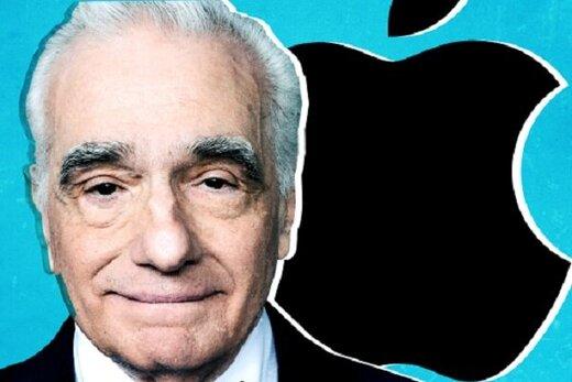 مارتین اسکورسیزی با اپل قرارداد بست