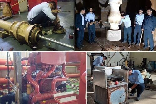انجام ۱۳۰۰ فعالیت تعمیراتی در نیروگاه شهیدرجایی