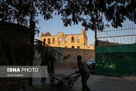 متروکهای بازمانده از کارخانه آرد قزوین