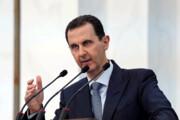 ببینید | افتادن فشار خون بشار اسد هنگام سخنرانی
