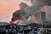 ببینید | تصاویری منتشر نشده و جدید از لحظهی انفجار وحشتناک بیروت