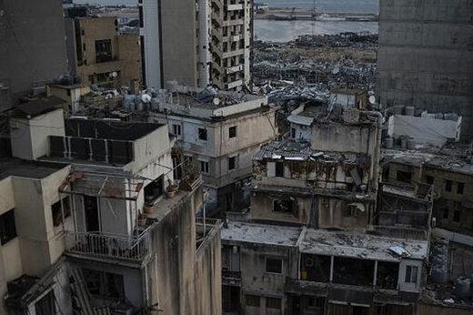 ببینید   تصاویری پهپادی از خانههای ویران شده در انفجار بیروت