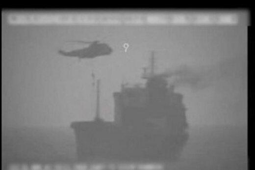 ببینید | ایران نفت کش «ویلا» را توقیف کرد