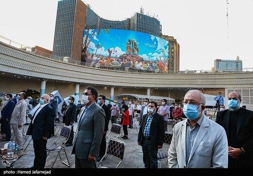 افتتاح اولین کتابخانه عمومی در مترو تهران