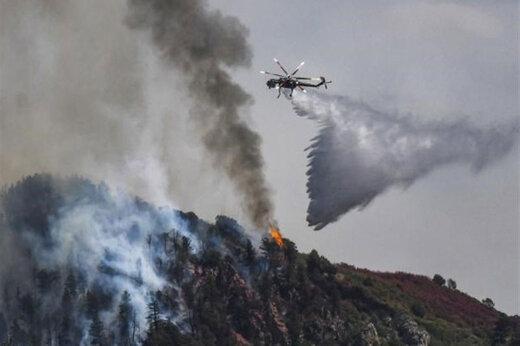 ببینید | تخلیه اجباری ساکنان شمال «لسآنجلس» به علت آتشسوزی مهیب