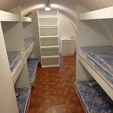 تصاویری از لوکسترین پناهگاههای زیر زمینی