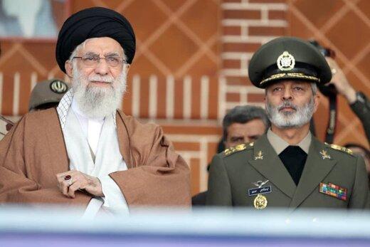 قدردانی فرمانده کل ارتش از رهبر انقلاب