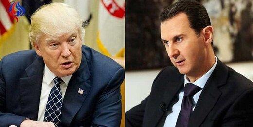 نامه ترامپ به بشار اسد برای مذاکره