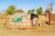 ببینید | روستای سودانی که آرام آرام توسط صحرا خورده میشود.