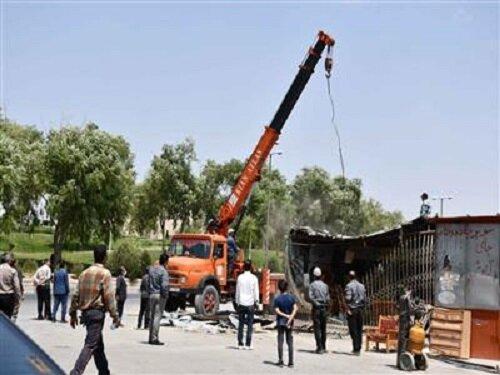 جمعآوری کیوسکهای سهراهی خوزستان / کیوسکها در شهرکرد ساماندهی میشوند