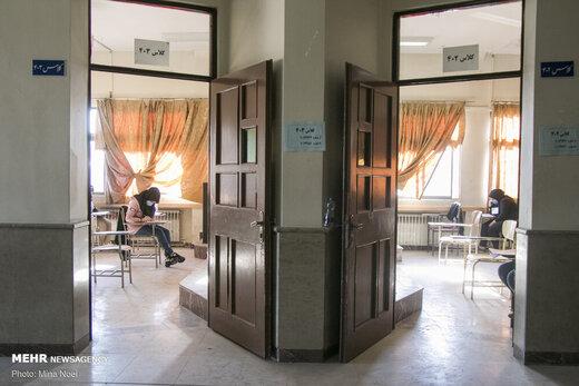۵۹ بیمار مبتلا به کرونا داوطلب کنکور ۹۹ هستند/ تکمیل فرم سلامت برای همه