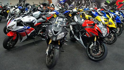 انواع موتورسیکلت در بازار چند؟