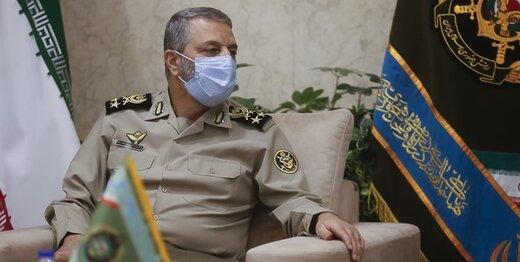 پیام تسلیت فرمانده کل ارتش به سردار رشید