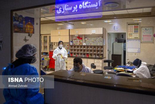 آخرین آمار کرونا در ایران/ ۳۹۱۱ نفر از بیماران مبتلا به کووید۱۹ در وضعیت شدید این بیماری/ اعلام اسامی استانهای قرمز
