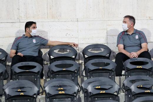 آنالیز دیدار ایران و ازبکستان توسط کادر فنی تیم ملی/عکس
