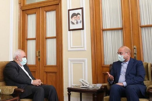 در دیدار امروز ظریف و قالیباف چه گذشت؟/ معمای پیشنهاد رئیس مجلس برای تشکیل یک وزارتخانه جدید