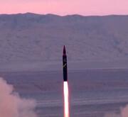 لحظه  اصابت موشک خرمشهر-۲ به مرکز هدف + عکس