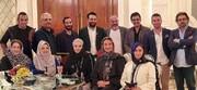 ببینید | تصویری از عدم رعایت فاصله اجتماعی توسط هنرمندان در جشن حافظ