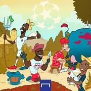 ببینید: ستارههای فوتبال در حال مزرعهداری!