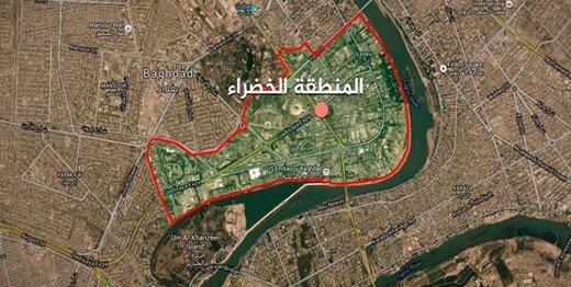 حمله راکتی به سفارت آمریکا در بغداد