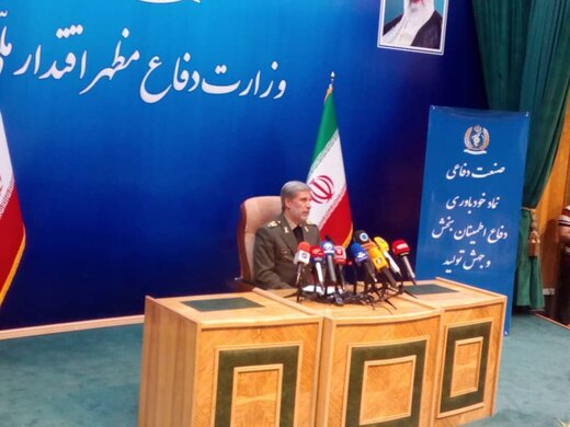"Defense Minister: Iran thwarts any threats by ""active defense"" strategy"
