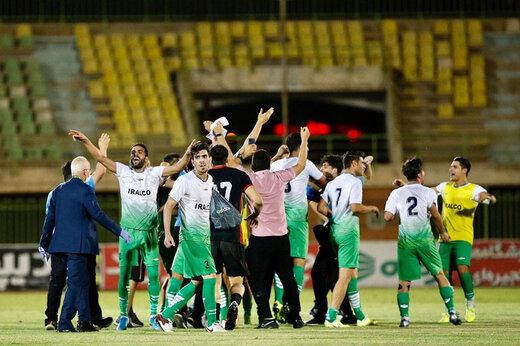 ببینید | تیم آلومینیوم اراک به لیگ برتر صعود کرد