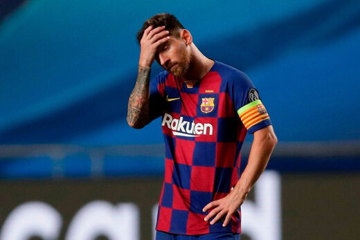 شوک به کاتالانها؛ مسی از بارسلونا جدا میشود