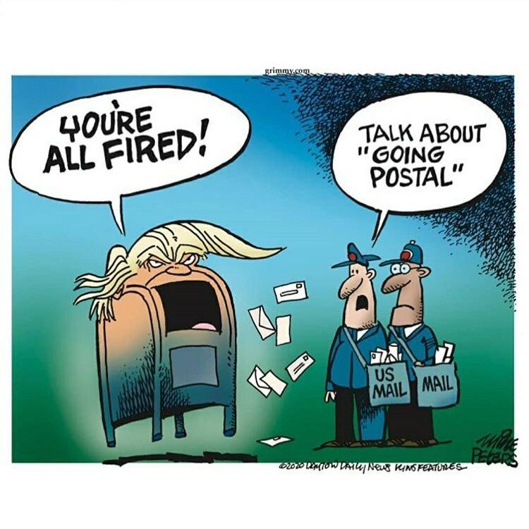 ببینید: ترامپ کارکنان اداره پست را هم اخراج کرد!