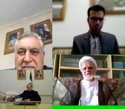 گفتگوی ویدیو کنفرانسی عراقچی با آزادگان وزارت خارجه