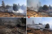 تصاویر   بلایی که بالنهای آتشزا فلسطینیان بر سر صهیونیستها میآورد