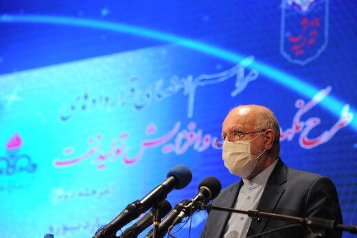 وزیر النفط : لن نعول على الشرکات الأجنبیة لتطویر منشآتنا النفطیة