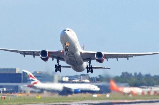 ببینید | تایم لپسی دیدنی از تیکآف و لندینگ هواپیما