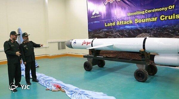 موشک سومار، سفری از تهران تا تل آویو در چند دقیقه + تصاویر