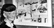 مادربزرگی که در ۷۰ سالگی نقاشِ مشهوری شد / تصاویر