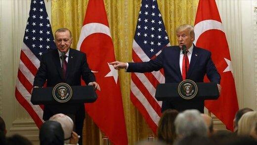ترامپ: اردوغان فقط از من حرف شنوی دارد!