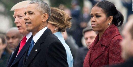 ترامپ خطاب به میشل اوباما: خودت در منجلابی!