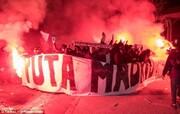 ببینید | درگیری پلیس با هواداران پاریسنژرمن پس از صعود تاریخی به فینال لیگ قهرمانان