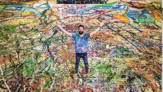 بزرگترین تابلو نقاشی جهان به مزایده گذاشته میشود