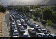 جادههای کشور ۴.۵ درصد شلوغتر شدند