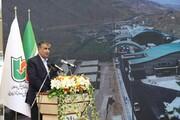 وزیر راه و شهرسازی، سالن مسافری پایانه مرزی سرو را افتتاح کرد