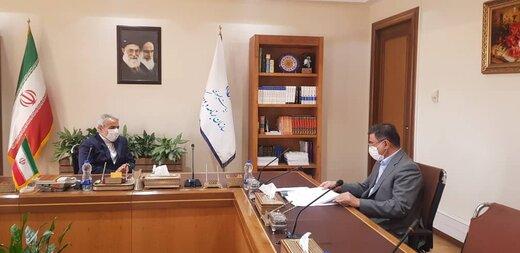 دیدار استاندار البرز با رییس سازمان برنامه و بودجه کشور