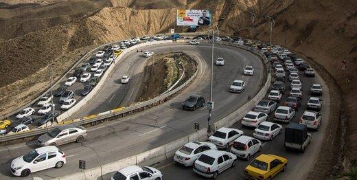 5446199 - اعمال محدودیت ترافیکی در آزاده راه تهران - شمال در تعطیلات پیشرو