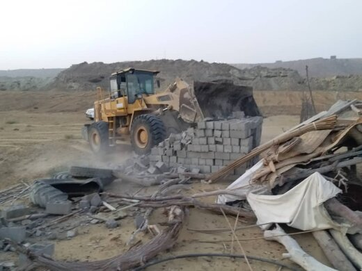 ۱۰ هکتار از اراضی منطقه آزاد چابهار رفع تصرف شد