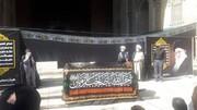 تشییع پیکر آیتالله سیدعبدالجواد علمالهدی با حضور علما و شخصیتهای دینی/ عکس
