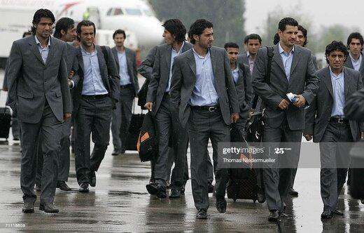 تیپ رسمی بازیکنان تیمملی در جام جهانی 2006/عکس