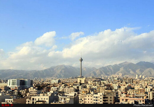 کاهش دمای هوای تهران تا روز چهارشنبه