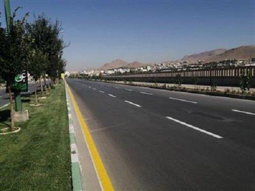 اجرای ۶۵ کیلومتر خطکشی خیابانهای اصلی شهرکرد