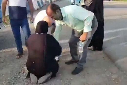 ببینید | لحظه احساسی آزادی جوان اعدامی از زندان و دست بوسی مادر