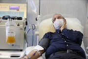 صحبتهای علی ربیعی بعد از اهدای پلاسما خون درباره فرزندش
